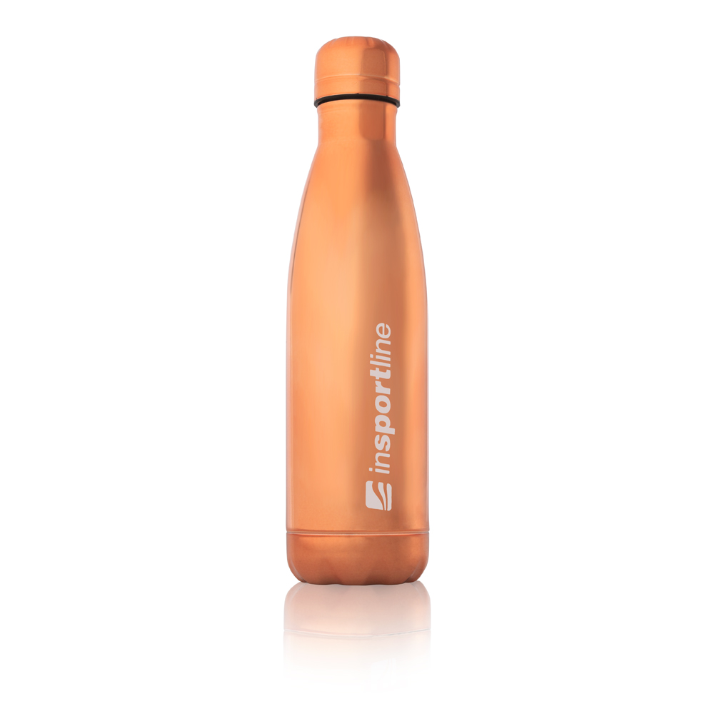Outdoorová termo fľaša inSPORTline Laume 0,5 l Rose Gold