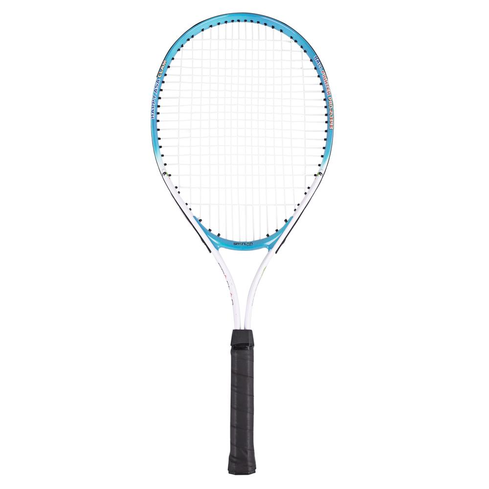 Detská tenisová raketa Spartan Alu 58 cm modrá
