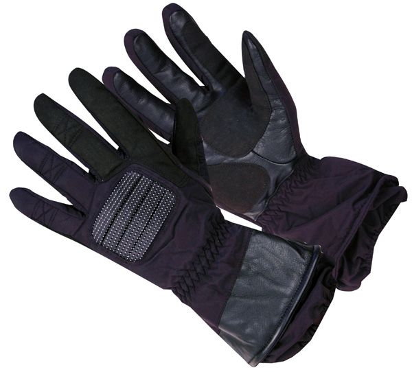 Moto rukavice WORKER MT652 čierna - XXL
