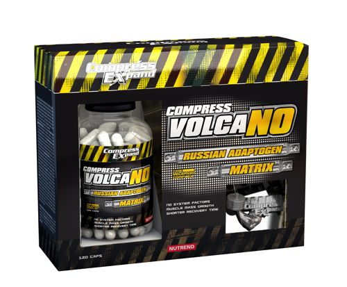 Tablety Nutrend Compress Volcano 120tbl.