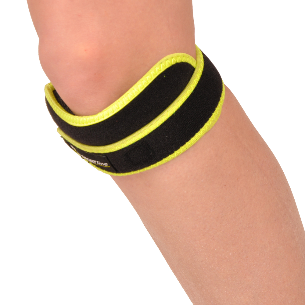Magnetická bambusová patelárna bandáž kolena inSPORTline