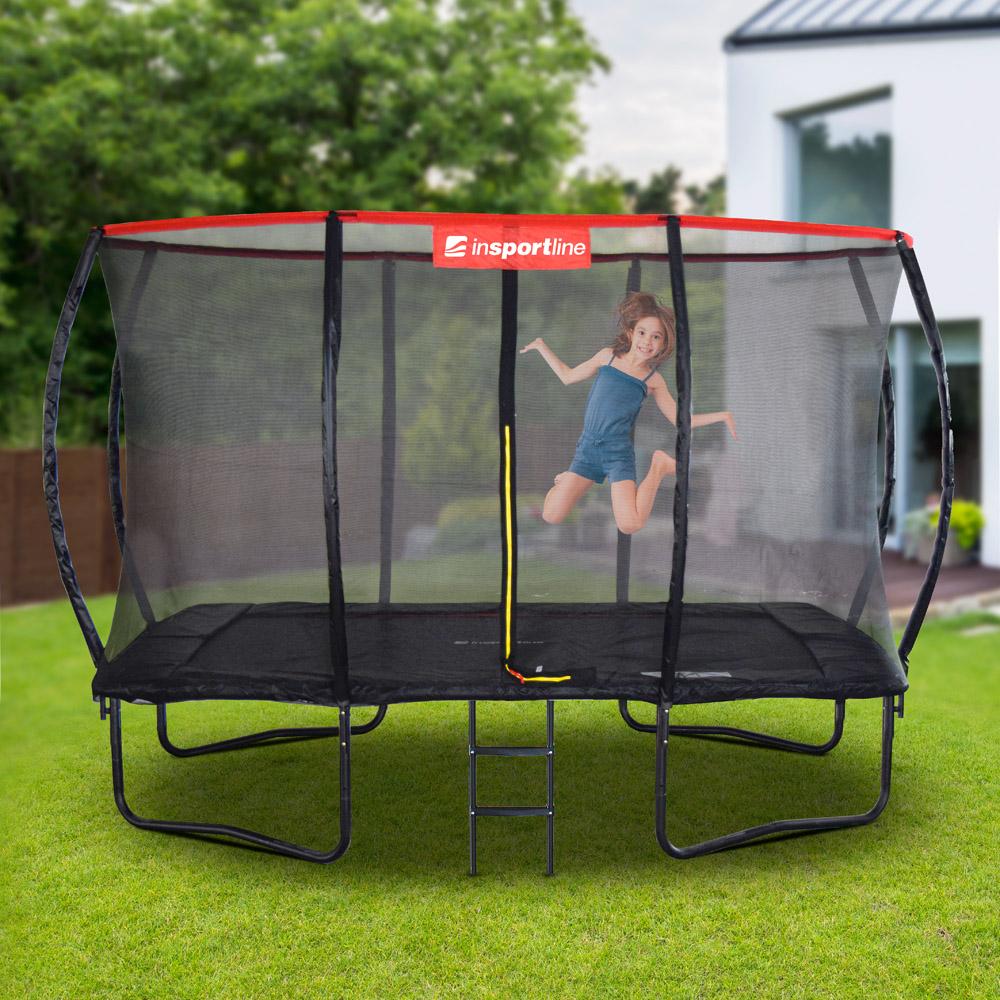 Obdĺžnikový trampolínový set inSPORTline QuadJump 183*274 cm