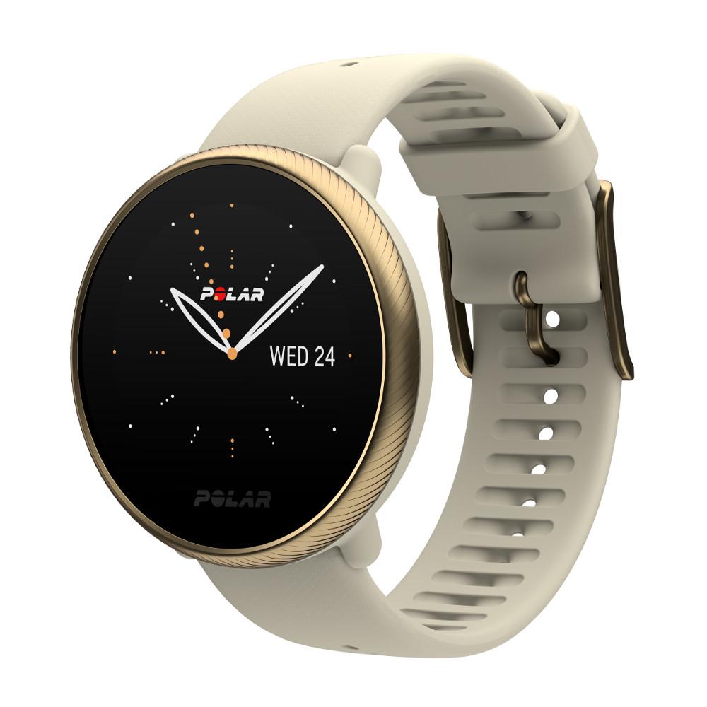 Športové hodinky Polar Ignite 2 béžová/zlatá