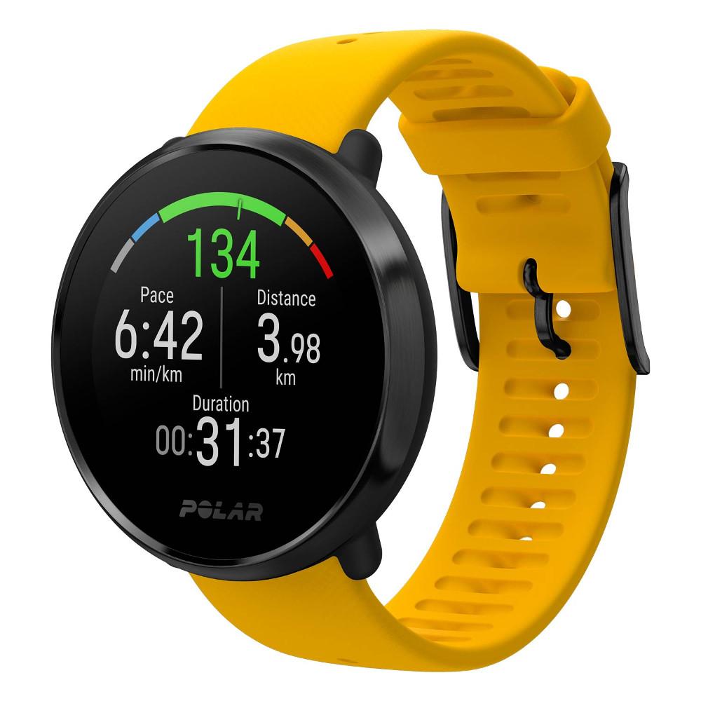 Športové hodinky POLAR Ignite žlté M/L