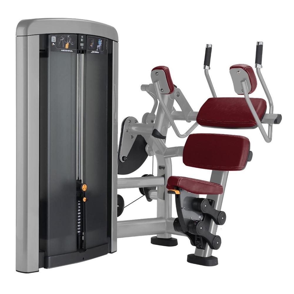 Posilňovací stroj na brušné svaly Life Fitness Insignia Abdominal - Montáž zadarmo + Servis u zákazníka