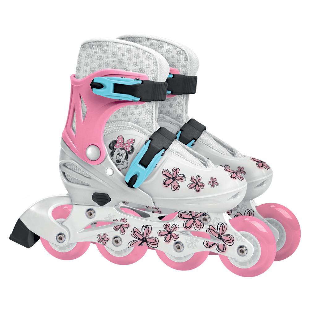 Detské nastaviteľné kolieskové korčule Minnie Mash Up S 30-33