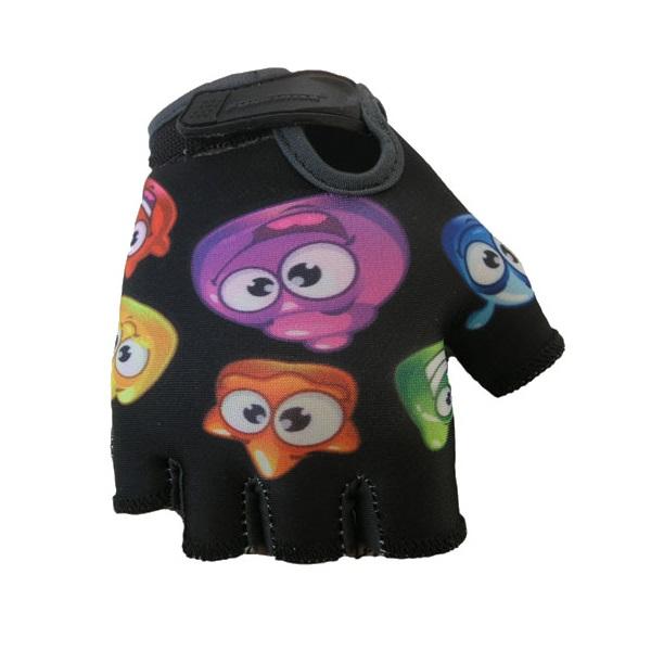 Detské cyklo rukavice POLEDNIK Baby Želáci čierna - 3