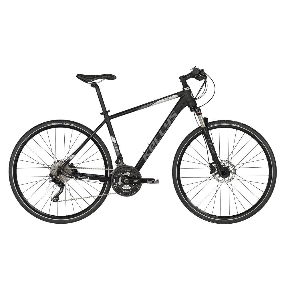 """Pánsky crossový bicykel KELLYS PHANATIC 90 28"""" - model 2019 S (17'') - Záruka 10 rokov"""
