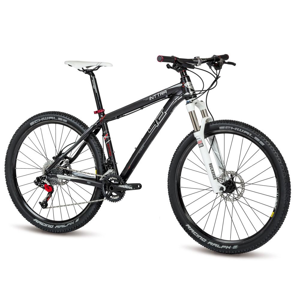 "Horský bicykel 4EVER Inttra X9 27,5"" - model 2015 graphit matt-lesk - 21"" - Záruka 10 rokov"