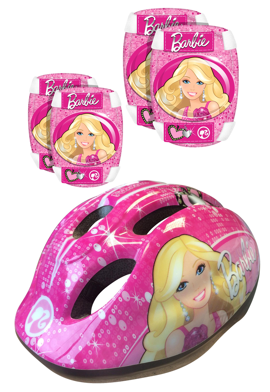 Set chráničov a helma Barbie