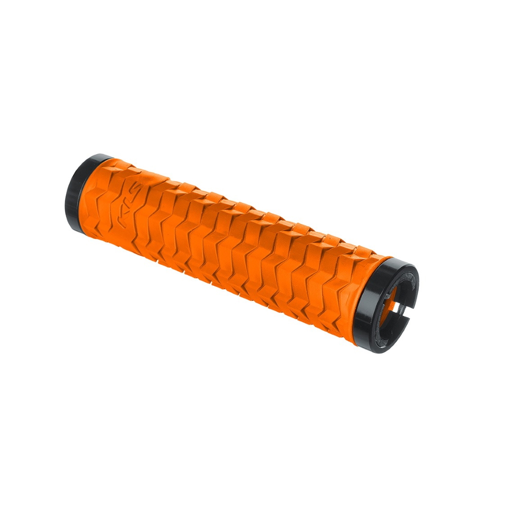 Gripy na bicykel Kellys Poison tiger orange