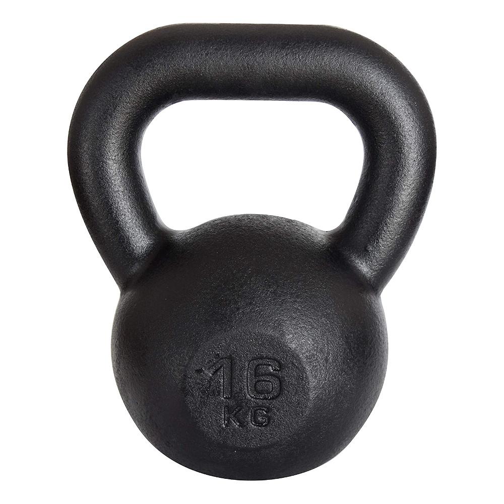 Liatinová činka KAWMET Kettle 16 kg