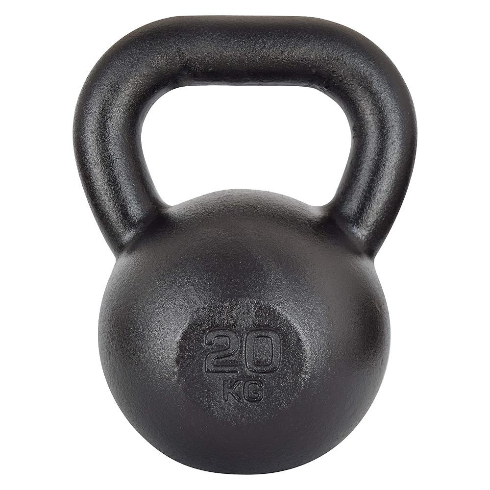 Liatinová činka KAWMET Kettle 20 kg