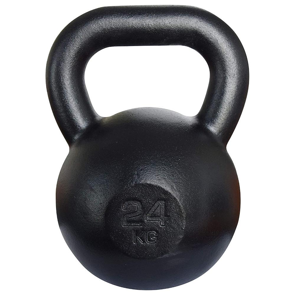 Liatinová činka KAWMET Kettle 24 kg