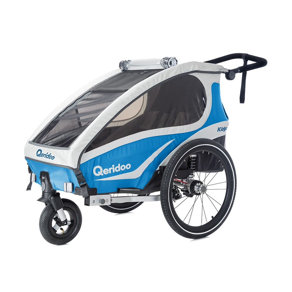 Multifunkčný detský vozík Qeridoo KidGoo 1 2018 modrá