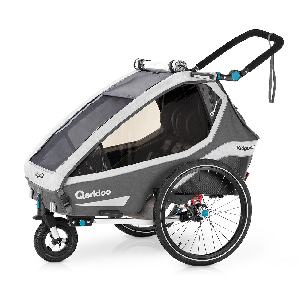 Multifunkčný detský vozík Qeridoo KidGoo 2 2020 Anthracite Grey