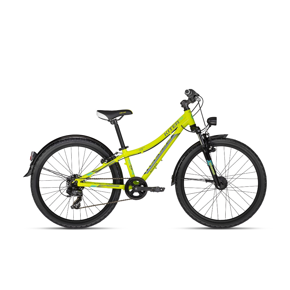 "Juniorský bicykel KELLYS KITER 70 24"" - model 2018 - Záruka 10 rokov"