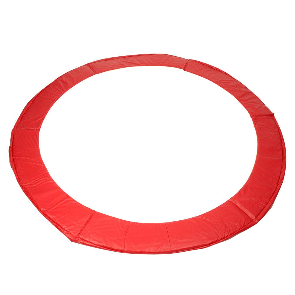 Kryt pružín na trampolínu 305 cm - zelená červená
