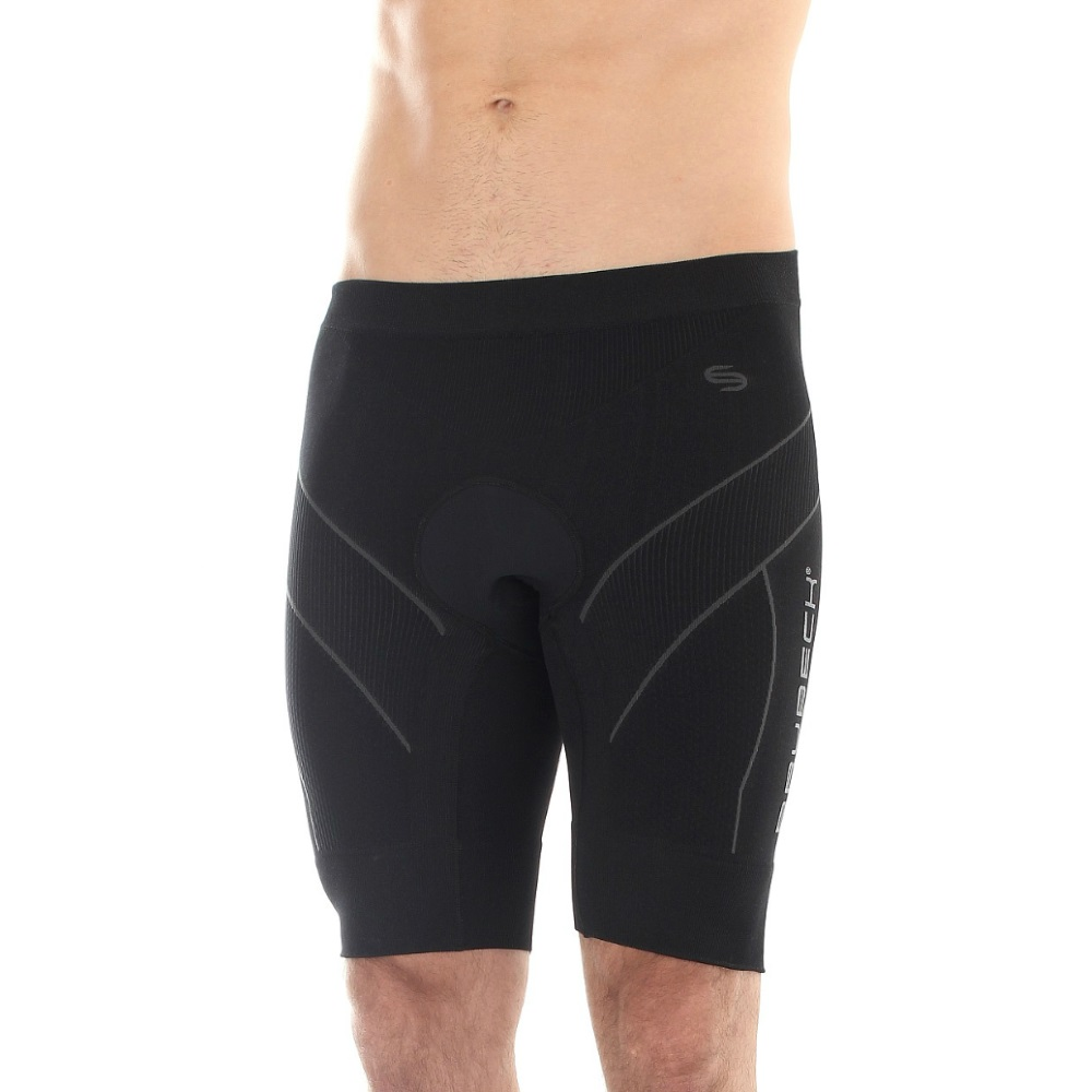 Pánske cyklistické termo nohavice Brubeck FIT s vypchávkou