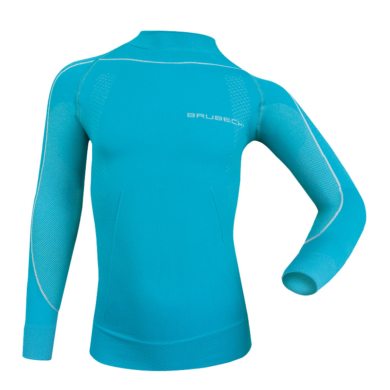 379d6e8c5496 Detské thermo tričko Brubeck THERMO s dlhým rukávom - modrá ...