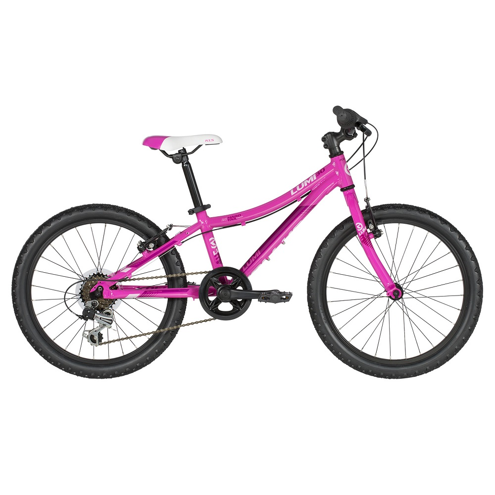 "Detský bicykel KELLYS LUMI 30 20"" - model 2019 Pink - Záruka 10 rokov"