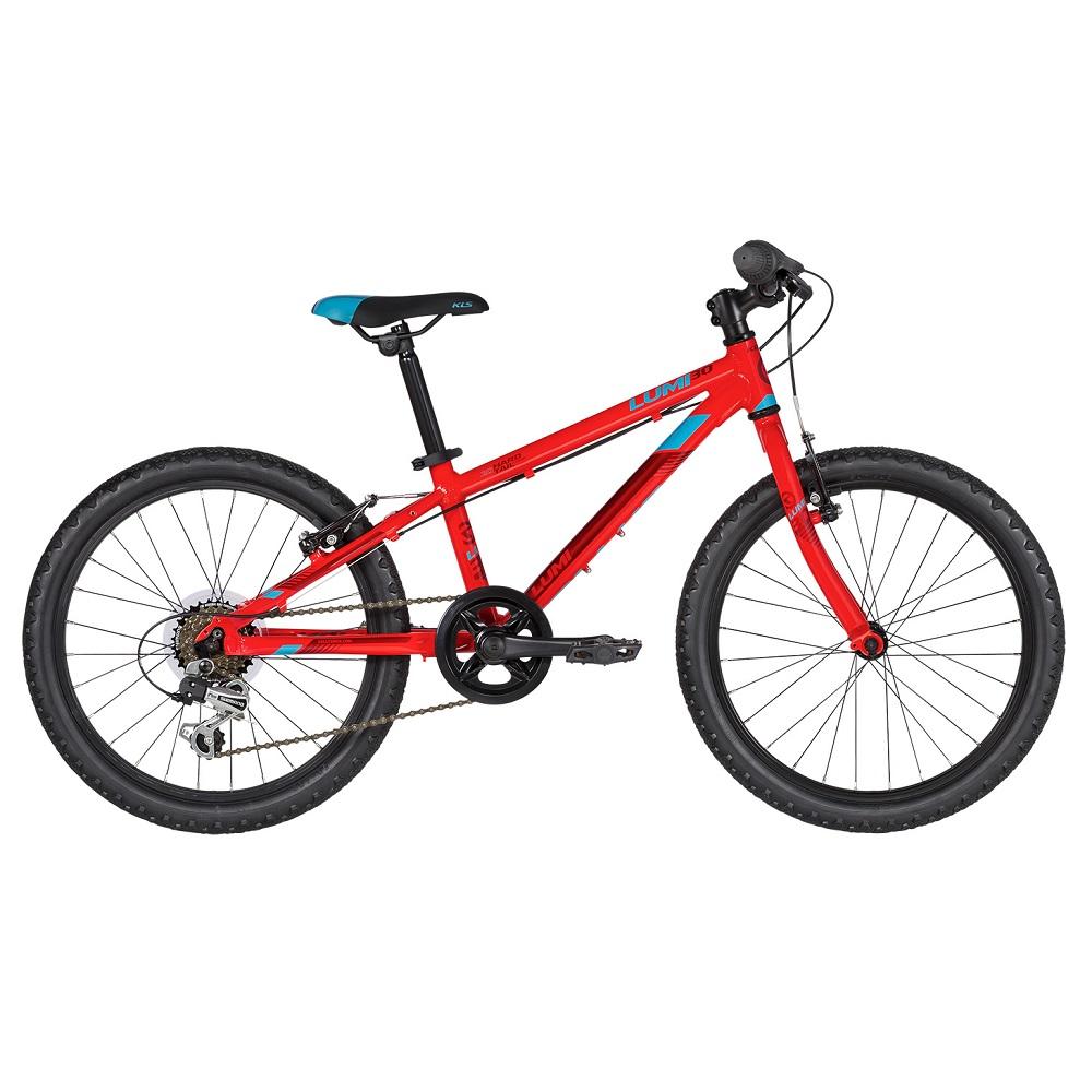 "Detský bicykel KELLYS LUMI 30 20"" - model 2019 Red - Záruka 10 rokov"