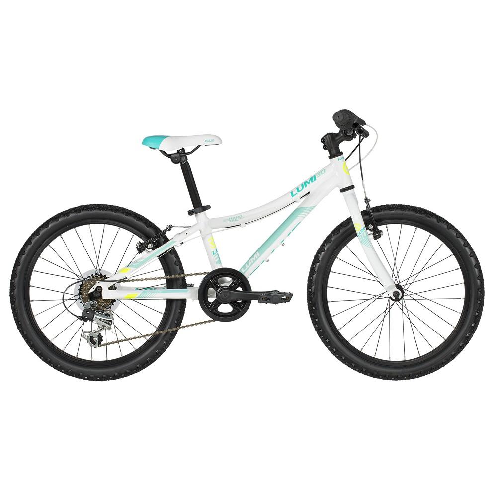 """Detský bicykel KELLYS LUMI 30 20"""" - model 2019 White - Záruka 10 rokov"""