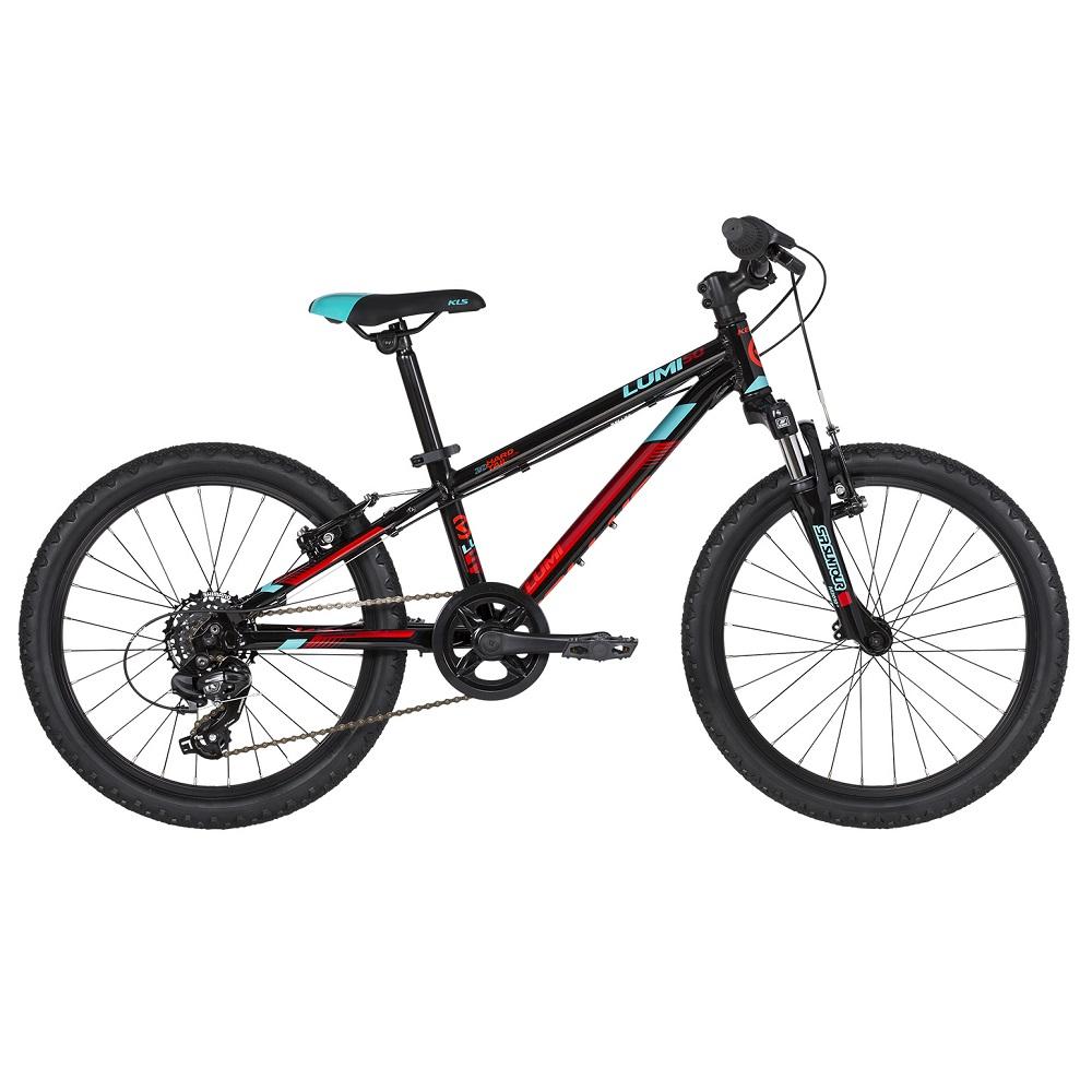"Detský bicykel KELLYS LUMI 50 20"" - model 2019 Black - Záruka 10 rokov"