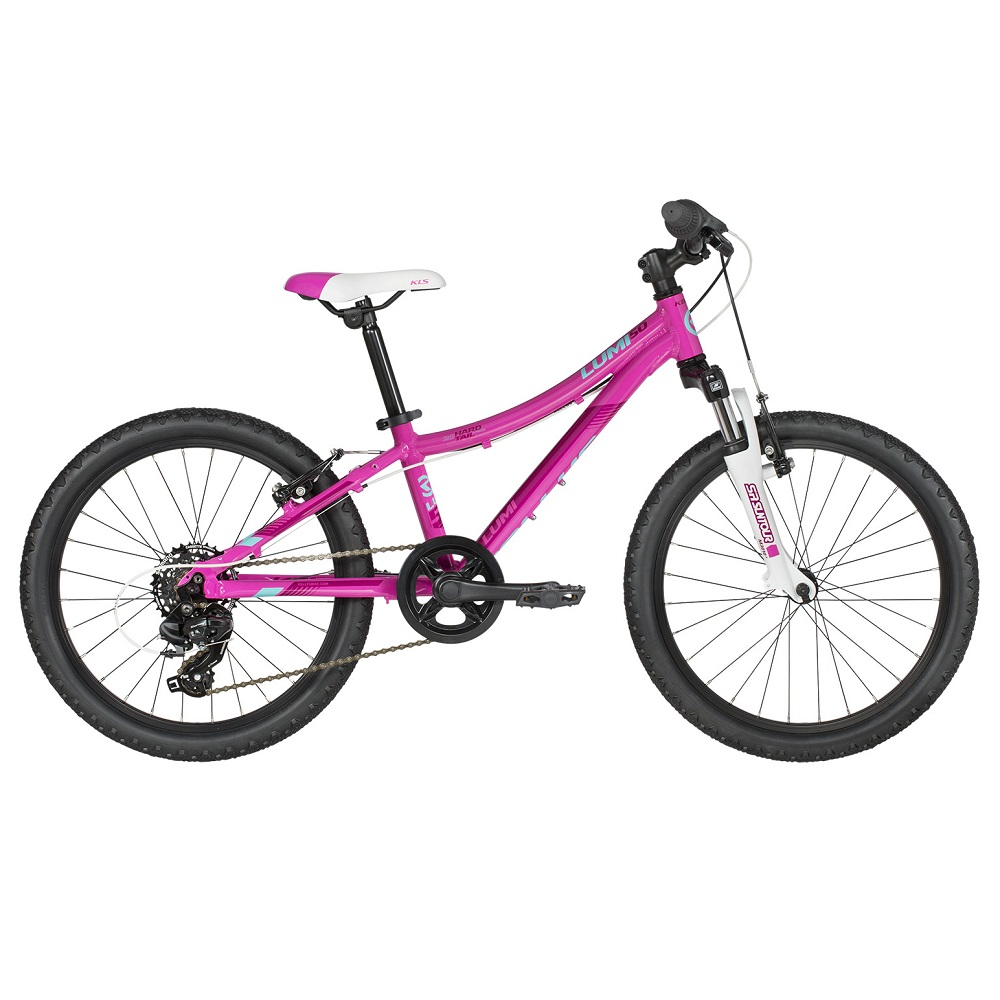 "Detský bicykel KELLYS LUMI 50 20"" - model 2019 Pink - Záruka 10 rokov"