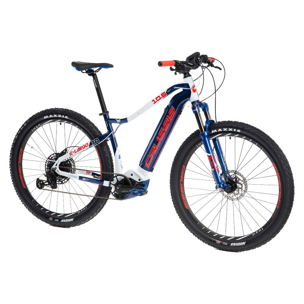 "Horský elektrobicykel Crussis e-Largo 10.6 - model 2021 18"" - Záruka 10 rokov"