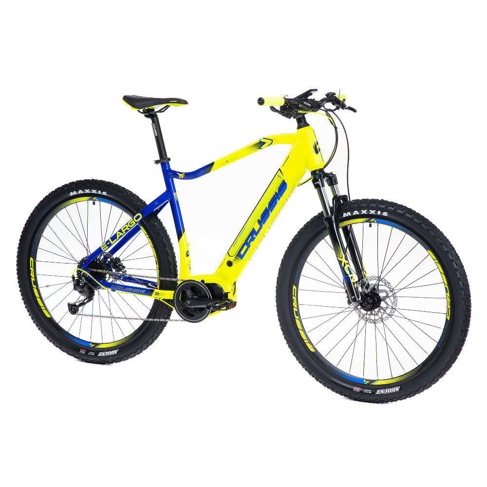 "Horský elektrobicykel Crussis e-Largo 7.6-L - model 2021 18"" - Záruka 10 rokov"