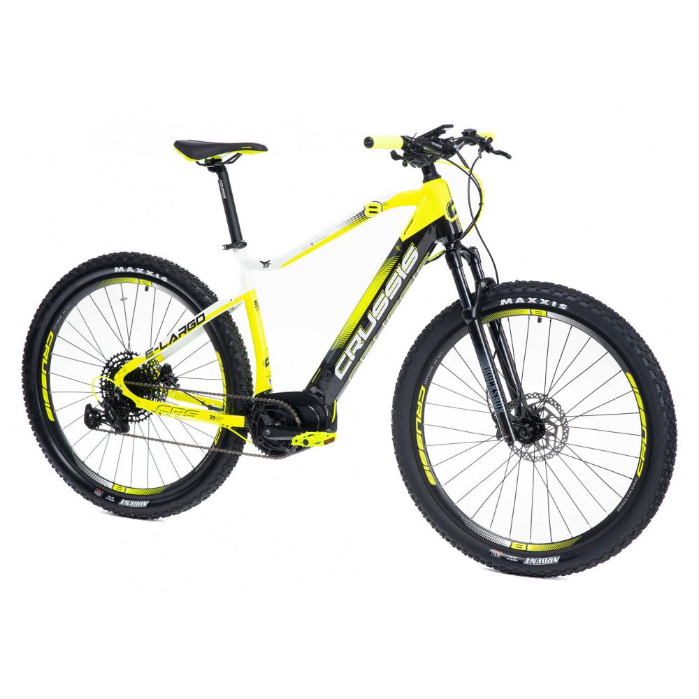 "Horský elektrobicykel Crussis e-Largo 8.6-M - model 2021 18"" - Záruka 10 rokov"