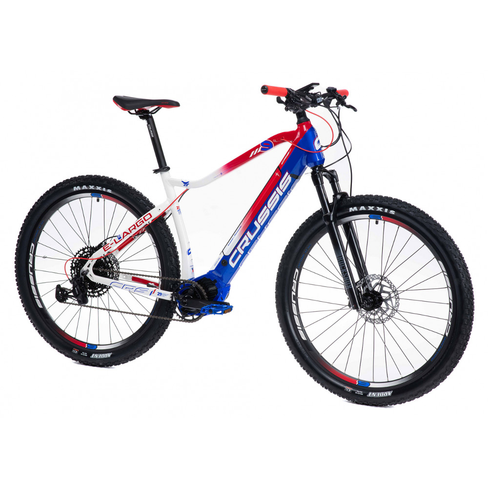 "Horský elektrobicykel Crussis e-Largo 9.6-L - model 2021 18"" - Záruka 10 rokov"