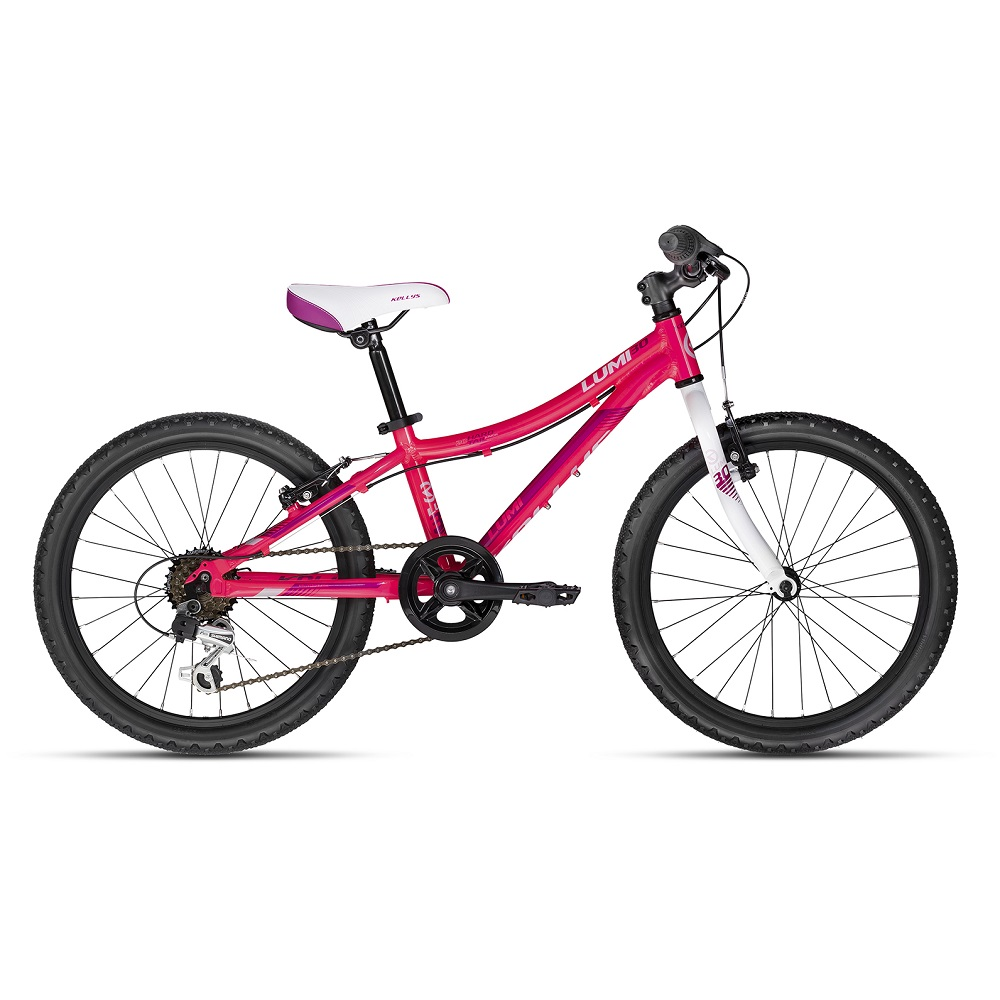 "Detský bicykel KELLYS LUMI 30 20"" - model 2018 Pink - Záruka 10 rokov"