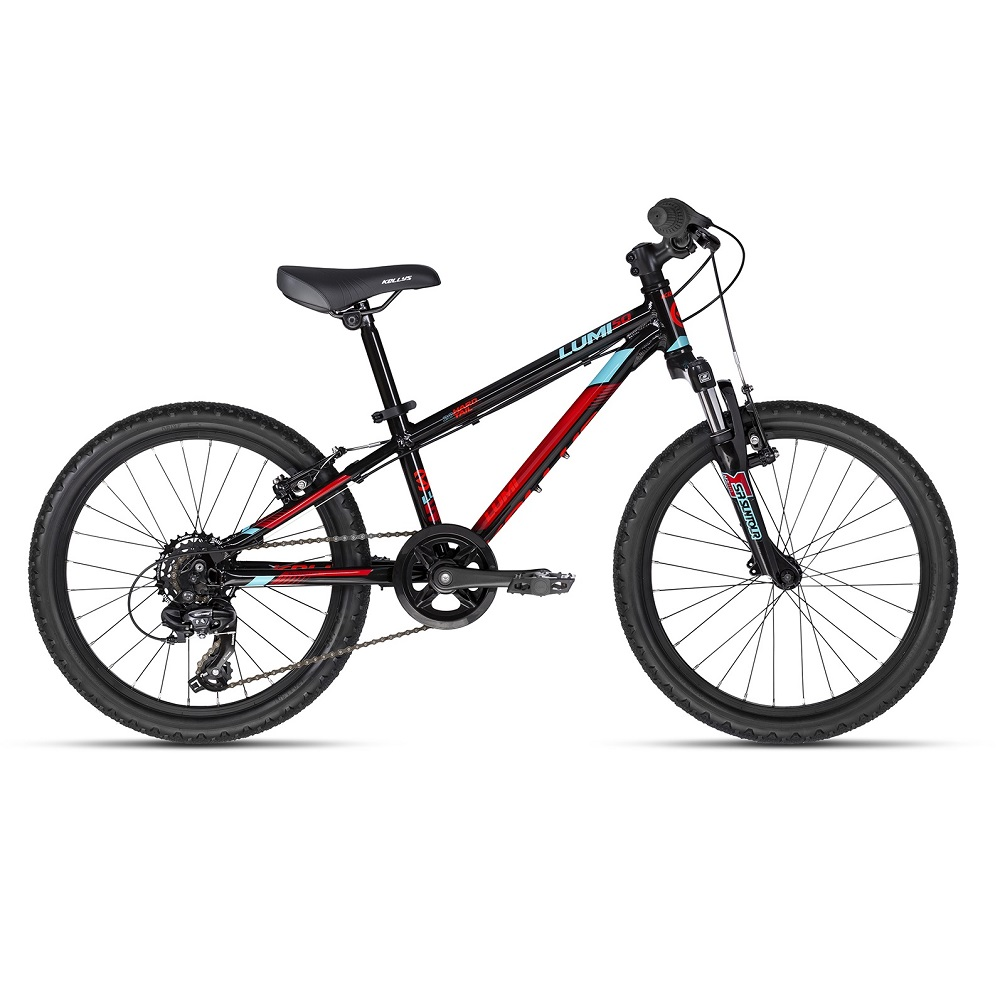 "Detský bicykel KELLYS LUMI 50 20"" - model 2018 Black - Záruka 10 rokov"