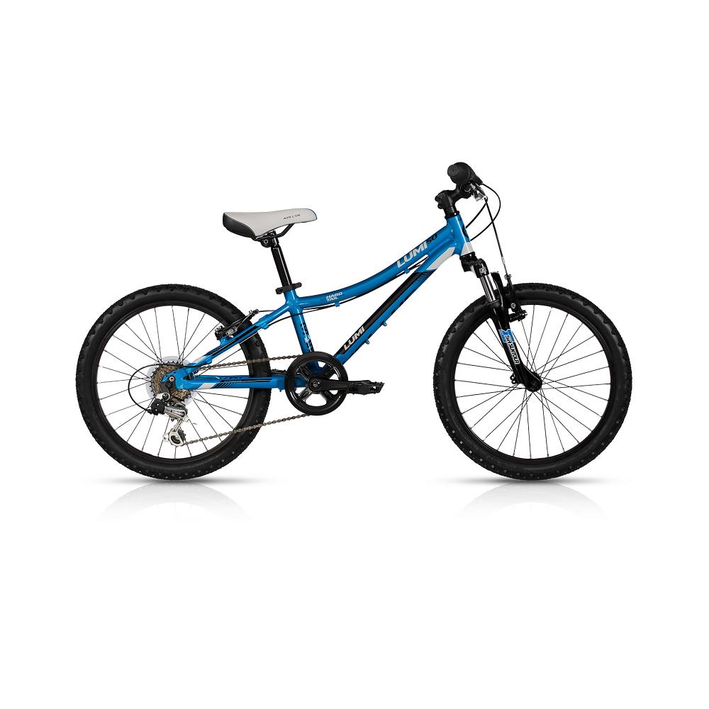 "Detský bicykel KELLYS LUMI 50 20"" - model 2017 blue - 255 mm (10"") - Záruka 5 rokov"