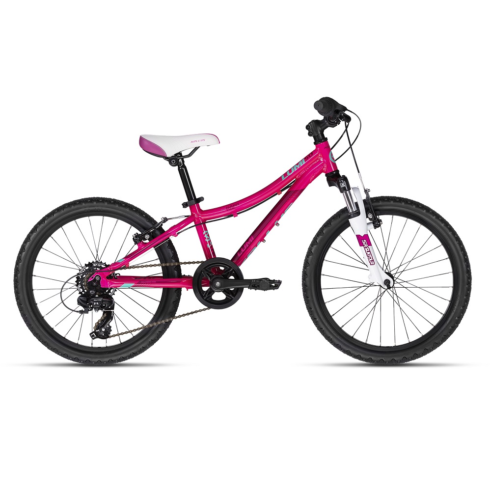 "Detský bicykel KELLYS LUMI 50 20"" - model 2018 Pink - Záruka 10 rokov"