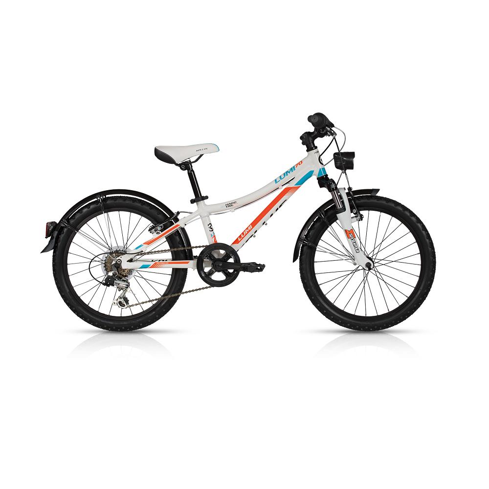 "Detský bicykel KELLYS LUMI 70 20"" - model 2017 255 mm (10"") - Záruka 5 rokov"