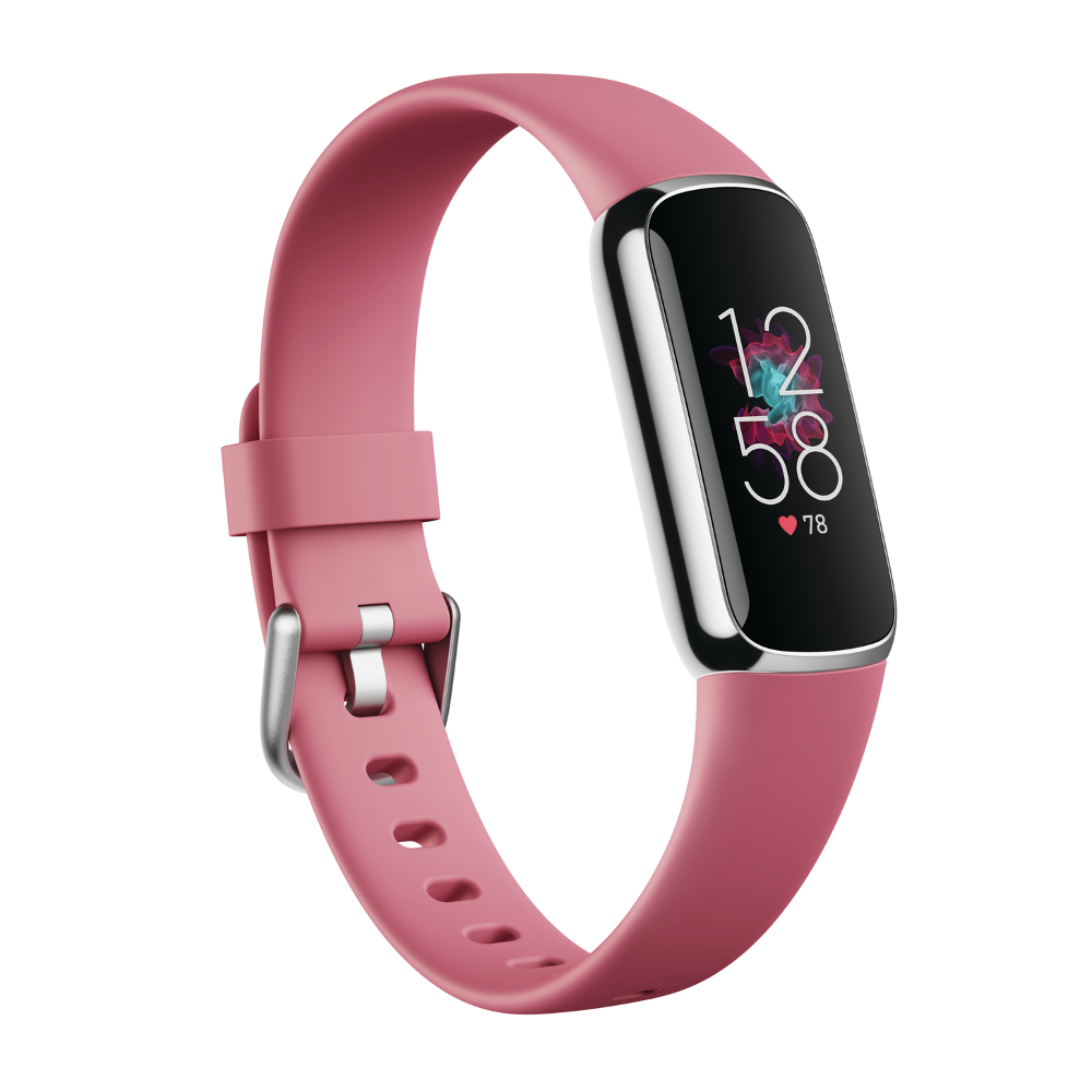 Fitness náramok Fitbit Luxe Platinum/Orchid