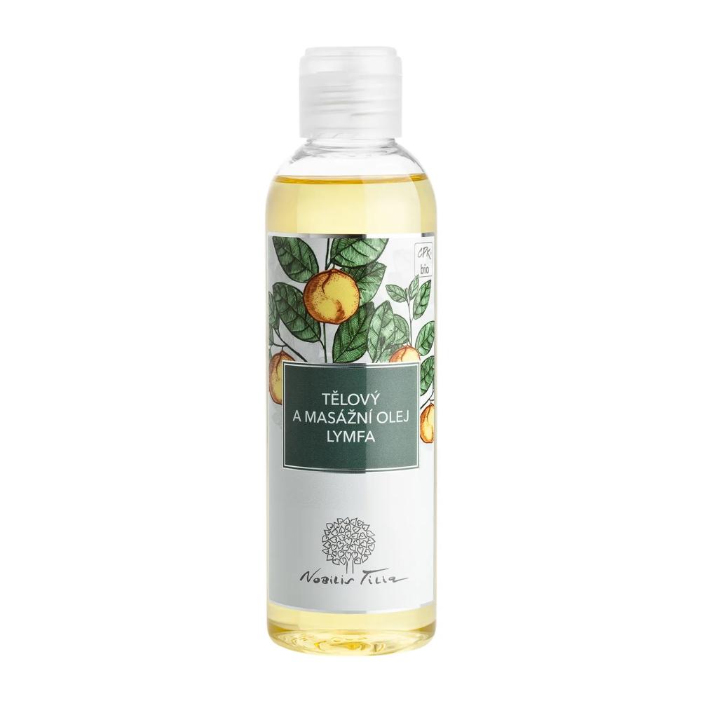 Telový a masážny olej Nobilis Tilia Lymfa 200 ml