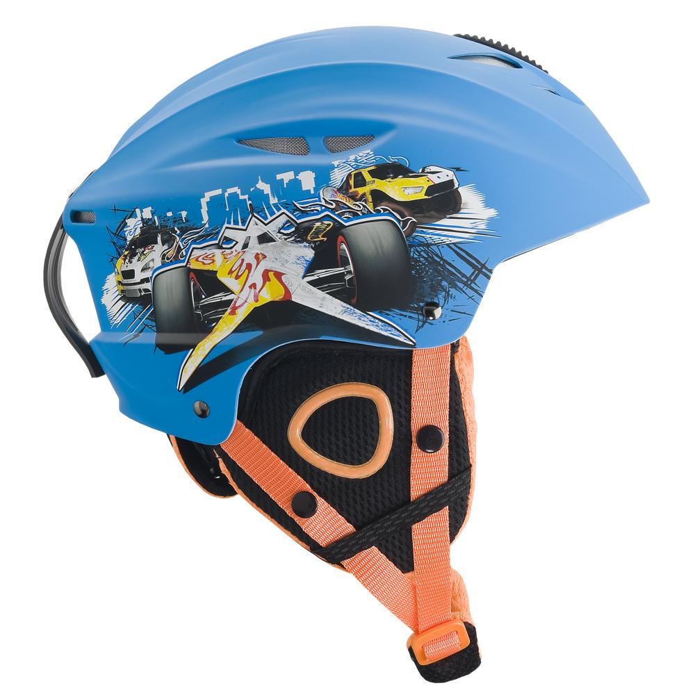 Detská lyžiarska prilba Vision One Hot Wheels