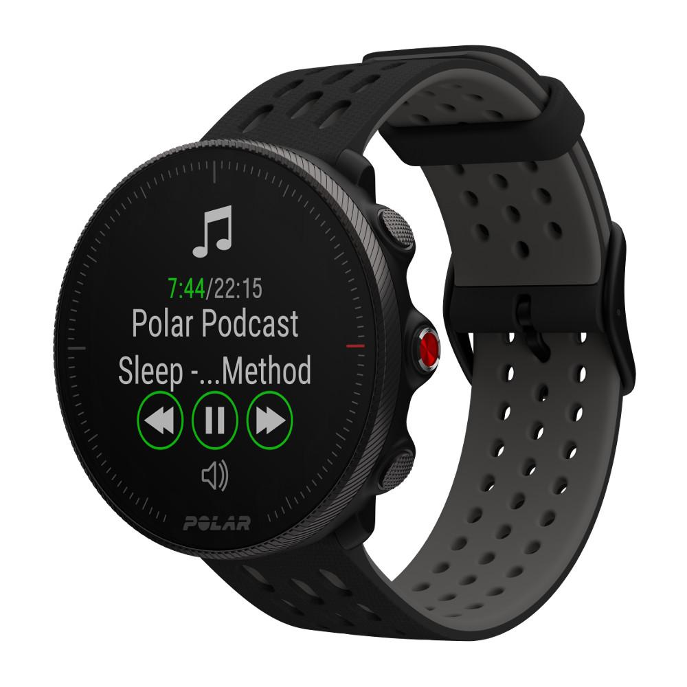 Športové hodinky POLAR Vantage M2 čierna/sivá S-L