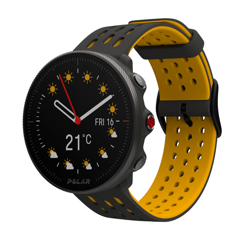 Športové hodinky POLAR Vantage M2 sivá/žltá