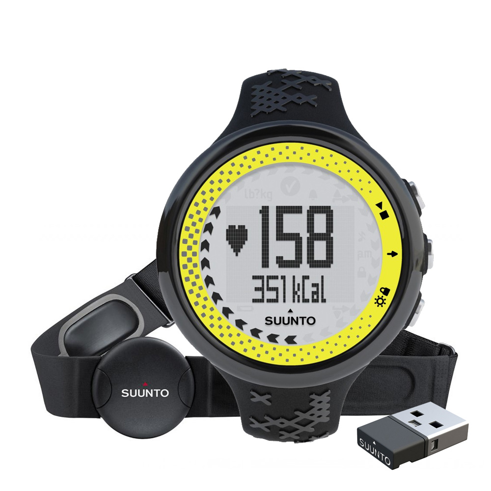 Športtester Suunto M5 Black/Lime Pack (+ M. MINI)