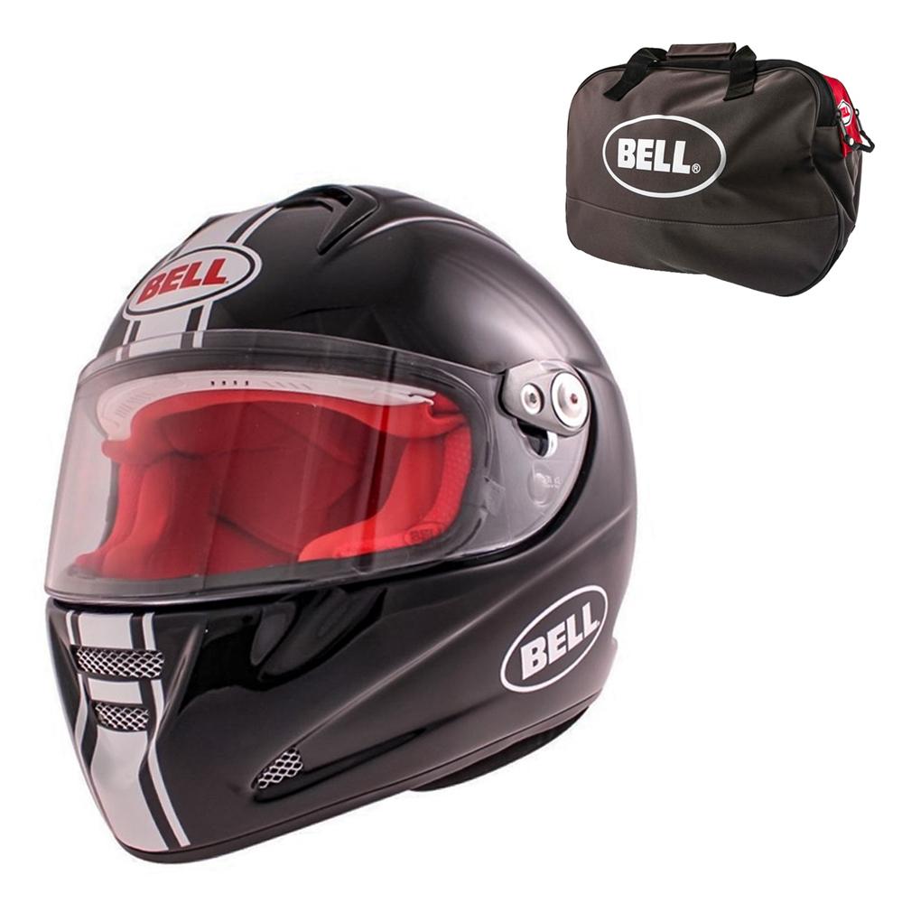 Moto prilba BELL M5X Daytona Black White