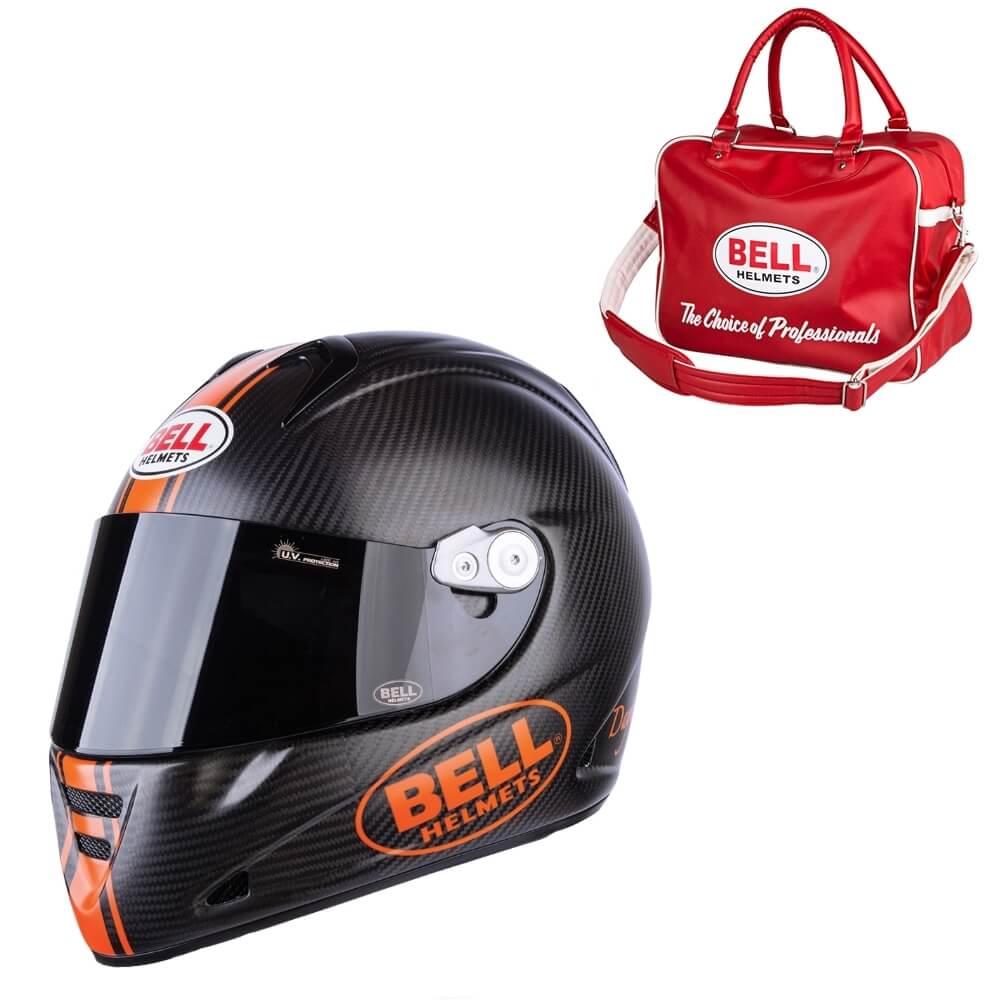 Moto prilba BELL M5X Daytona Carbon Matte Orange M (57-58) - Záruka 5 rokov