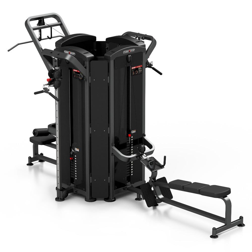Posilňovacia veža Marbo Sport MP-T001 čierna