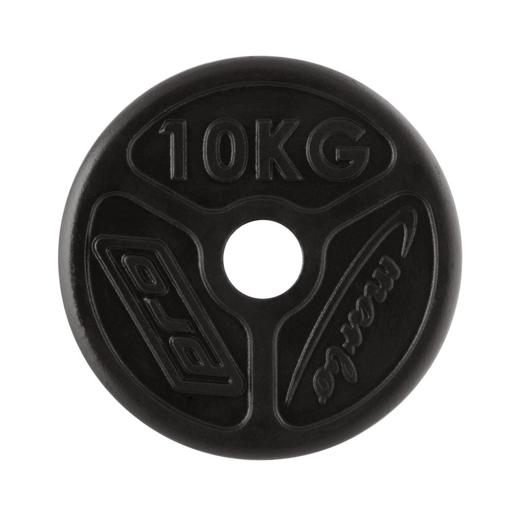 Olympijský liatinový kotúč Marbo Sport MW-O10 OLI 10 kg