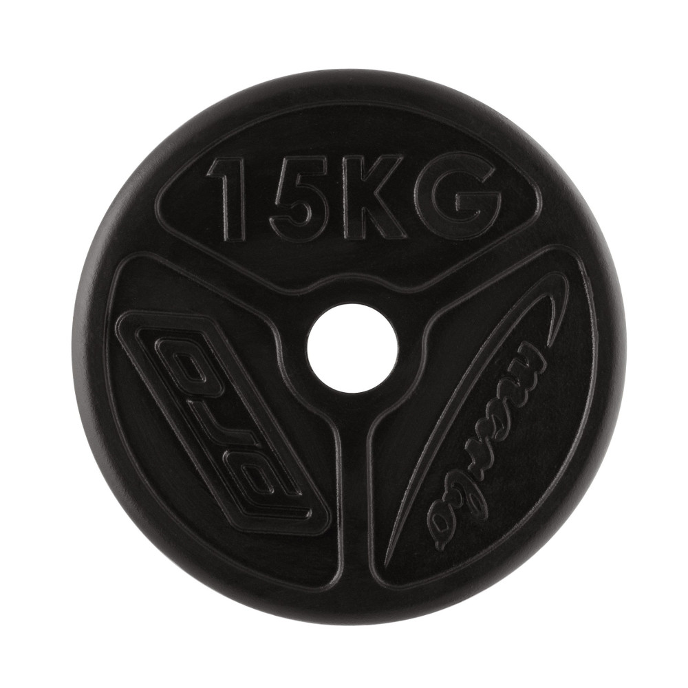 Olympijský liatinový kotúč Marbo Sport MW-O15 OLI 15 kg
