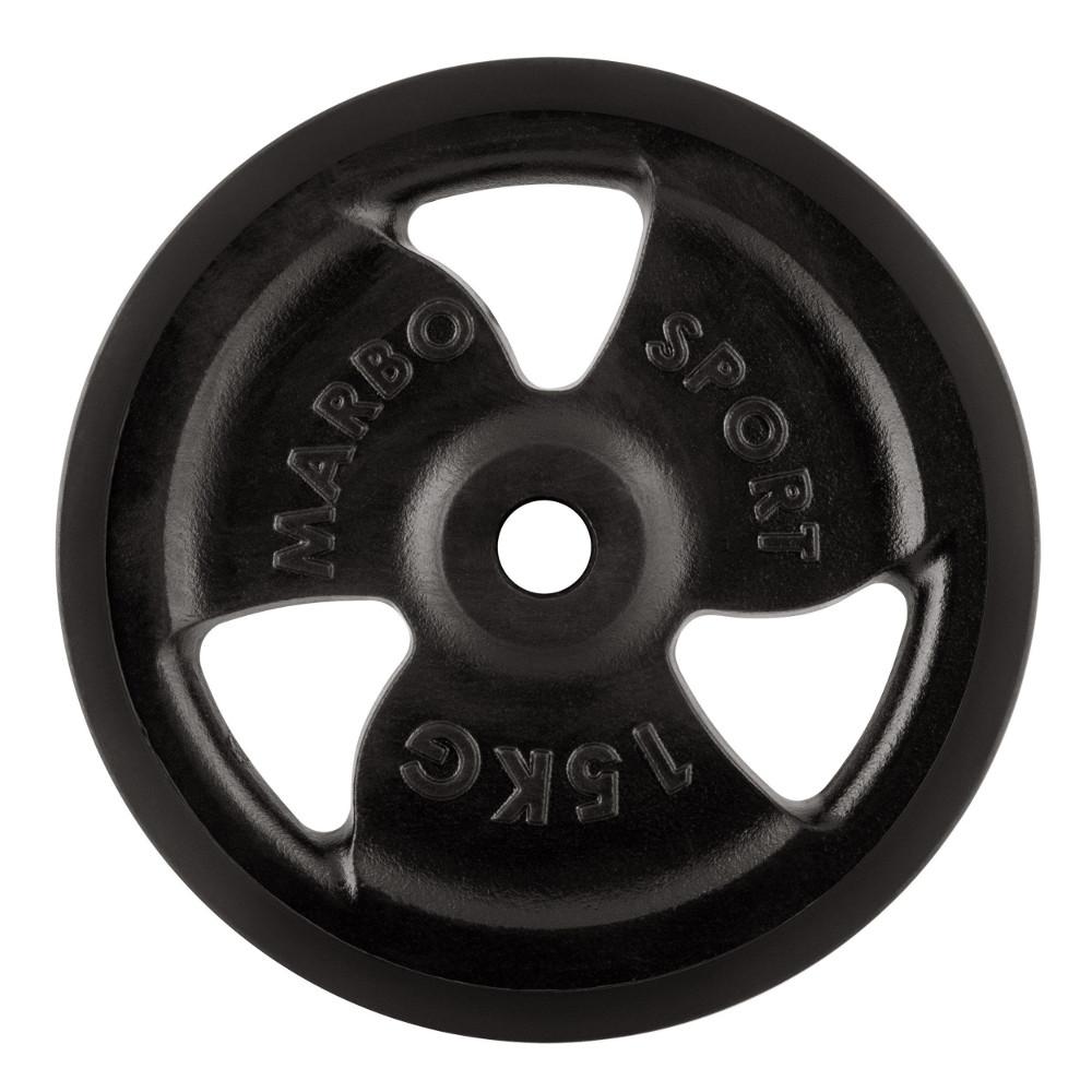 Pogumovaný kotúč Marbo Sport MW-O15G 15 kg